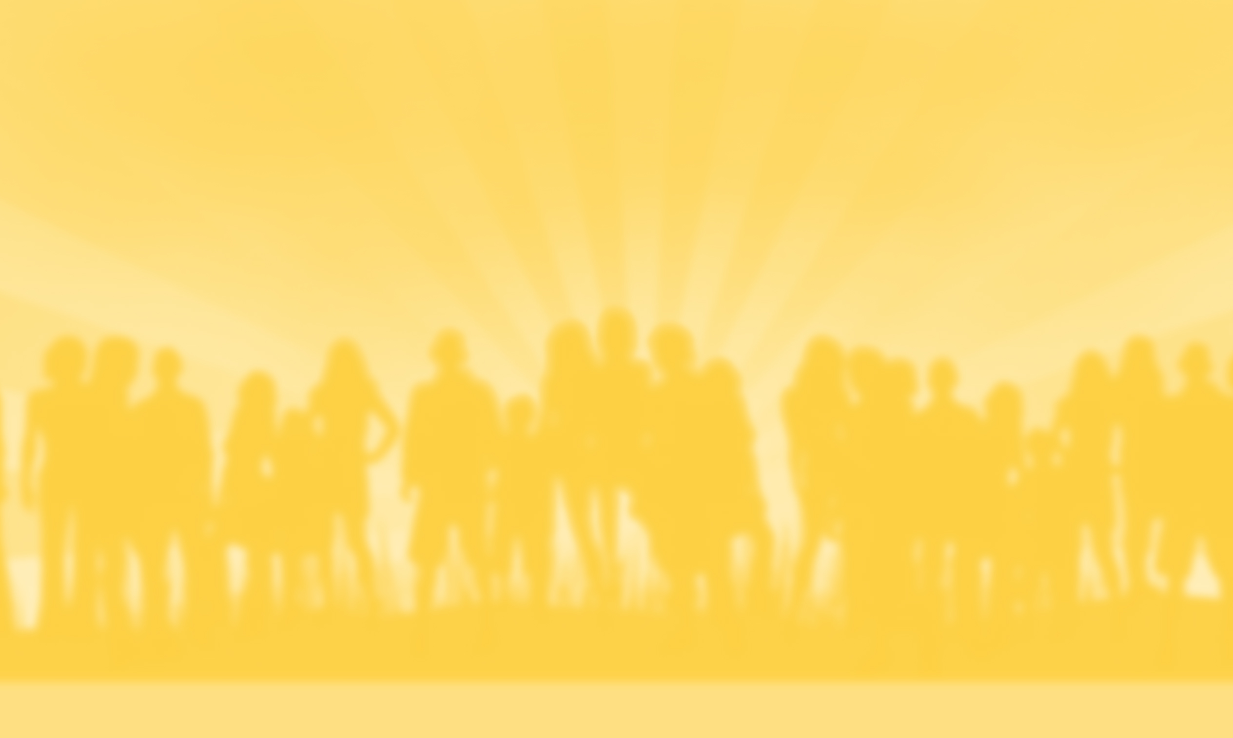 Silhouette of people standing together